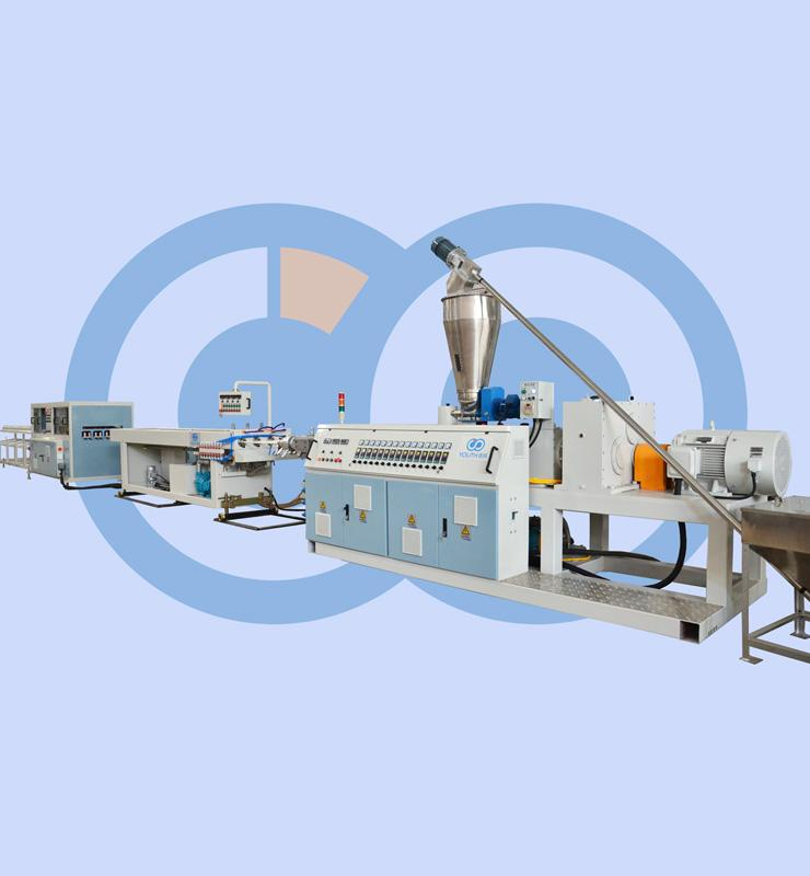 PVC 4 pipes extrusion line (16-32mm)