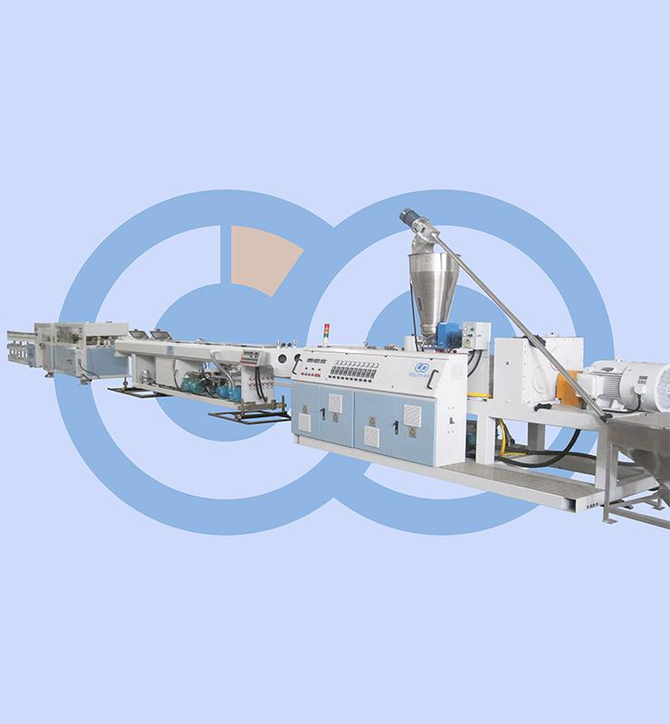 PVC 2 pipes extrusion line (16-110mm)