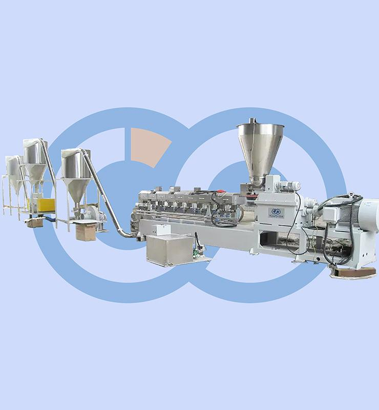 Parallel Twin Screw Pelleting Machine
